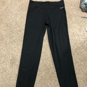 Black champion fleece leggings